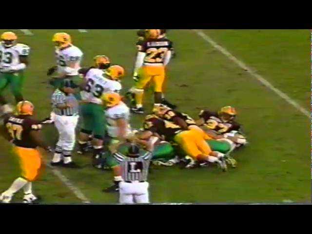 Oregon TE AJ Jelks 18 yard catch vs. ASU 11-15-1997