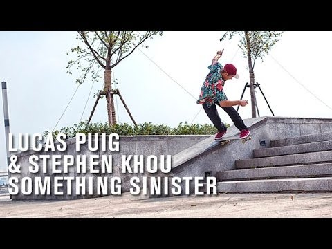 Lucas Puig & Stephen Khou 'Something Sinister' - TransWorld SKATEboarding