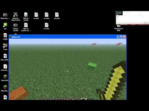 Minecraft 1.1 moj nie skończony zamek