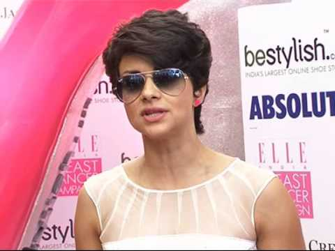 Gul Panag Looks Sizzling At Breast Cancer video