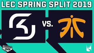 SK vs FNC | LEC Spring Split | Woche 5, Tag 2 [GER]