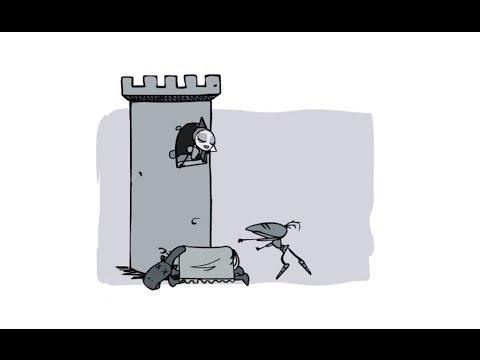 Веселый короткометражный мультфильм про рыцаря