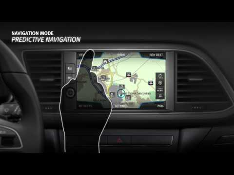 Navigation Tutorial: Infotainment System  SEAT LEON 2018