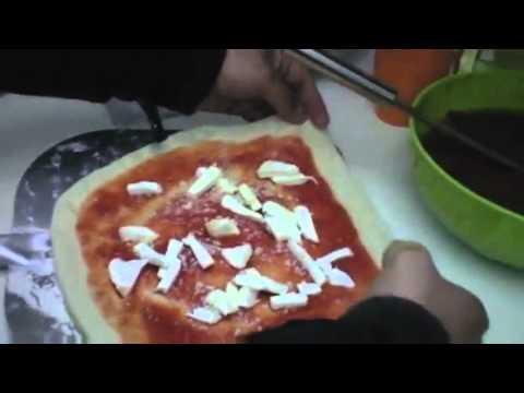 comment faire la p 226 te 224 pizza recette pizza fait maison pr 233 parer authentique pizza italien