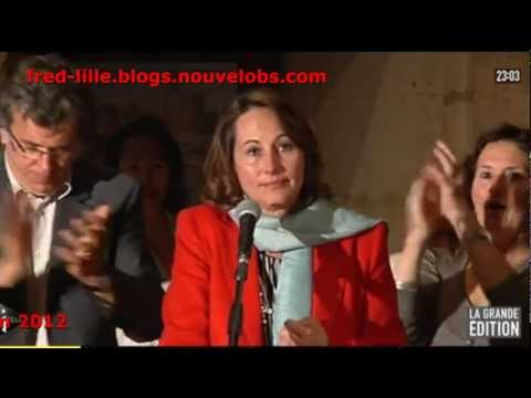 130612 - Ségolène Royal réagit au Tweet de Valérie Trierweiler