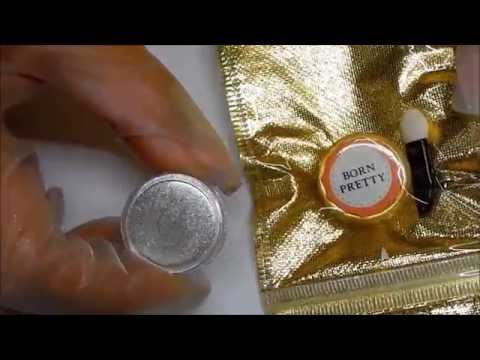 Born Pretty Store Chrome Powder Review ----Yay or Nay ?? Even CHEAPER 1.79