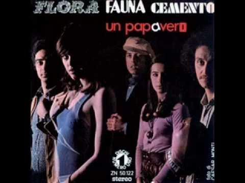 Flora Fauna Cemento  Un Papavero  Battisti   Mogol  1971