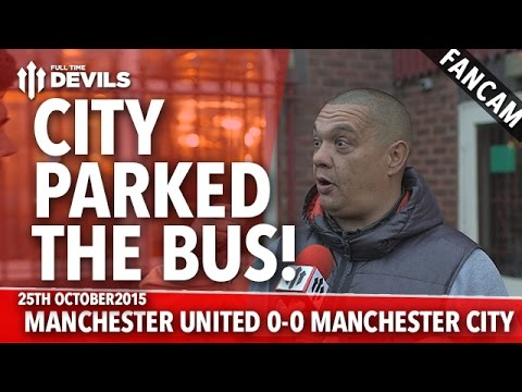 City Parked The Bus | Manchester United 0-0 Manchester City | FANCAM