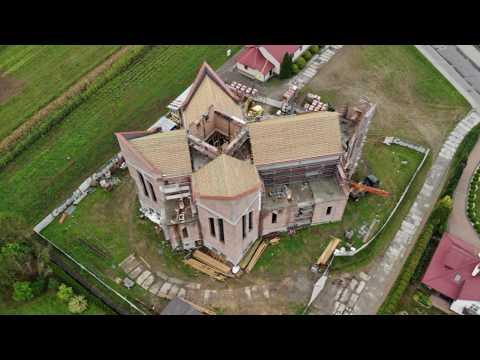 Budowa Nowego Kościoła W Strzyżowie Pw. św. Bpa Józefa Sebastiana Pelczara - Widok Z Drona