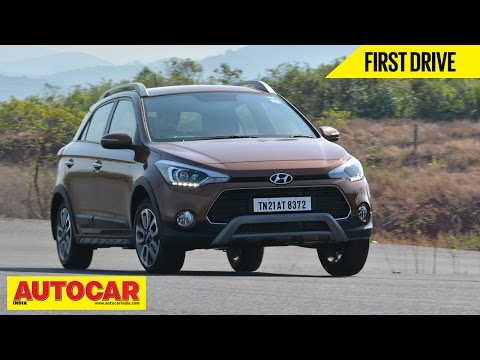2015 Hyundai Active i20 | First Drive Video Review | Autocar India