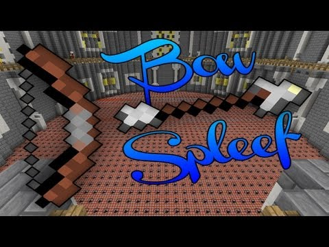 Minecraft - BowSpleef Mini Game Cracked Server: 1.7.10 24/7 [CRACKED LAUNCHER] Ep. 2