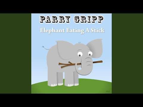 Elephant Eating a Stick Elephant Eating a Stick