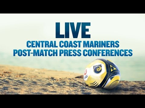 CC Mariners v Adelaide United Post Match Interviews