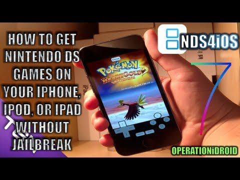 How to get NDS games on your iDevice (NO JAILBREAK) (iOS 7)