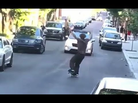 INSTABLAST - How Many Ways Can You HILL BOMB!?!! Soccer Skating!! Homie Almost Dies For His Board!!