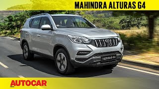 Mahindra Alturas G4 - the new Rexton | First India Drive Review | Autocar India
