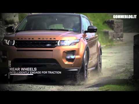 2014 Range Rover Evoque - Snow Test - Mud Test REV