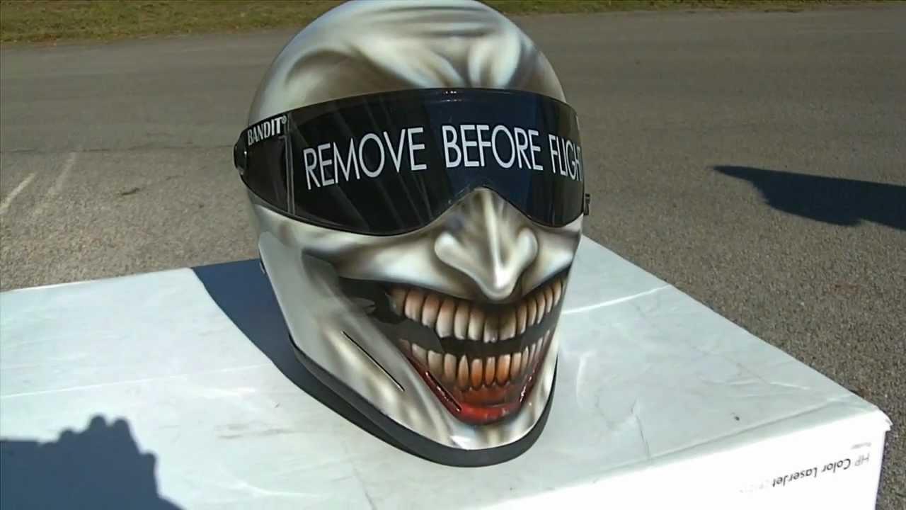 Joker motorradhelm