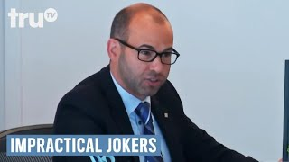 Impractical Jokers - Murr Plays the Name Game | truTV