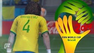 David Luiz Free Kick Vs. Colombia Remade (2014 FIFA World Cup: Brazil)