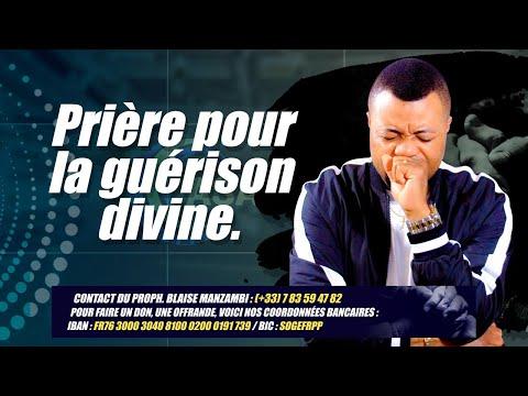 PRIERE POUR LA GUERISON DIVINE # PROPHETE BLAISE MANZAMBI #CASARHEMA