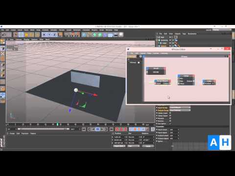 CINEMA 4D Tutorial - Using the Range Mapper in Xpresso to create automated animations