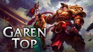 Garen vs Yasuo top ranked game [8.12] R.I.P Yasuo