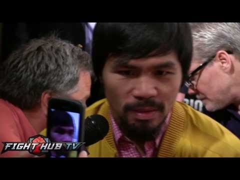 Manny Pacquiao never thought retirement after Marquez loss Rios win restores confidence
