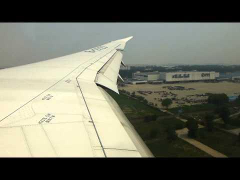 Hainan Airlines B787-8 Dreamliner landing Beijing PEK