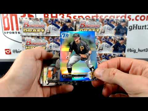 2017 Bowman Draft Baseball Jumbo  8 Box Case Break Snake Draft