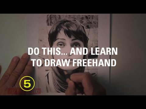 How to Accurately Sketch a Face Using Angles as Your Guide! (Sketching #3)