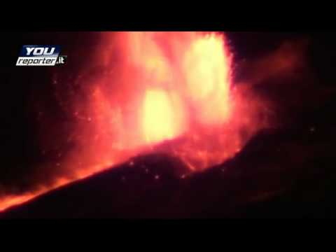 Eruption Etna January 12th, 2011