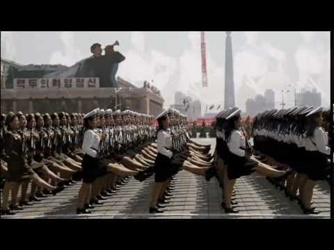 DPRK - North Korean Sexy Asian Babes Coyote Dancing - Communist Stylee - HD