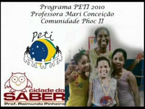 Fim de Semestre da Educadora Mari Conceição no PETI em Cama...
