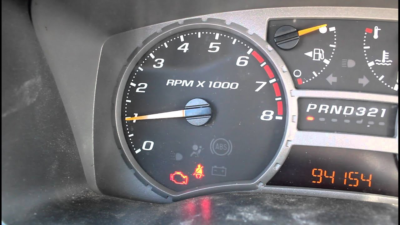 Chevy Colorado Rough Idle Youtube