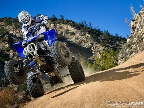 2009 Yamaha YFZ450R ATV Video Review Video