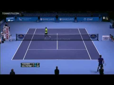 Top 10 Hot Shots From 2012 Barclays ATP World Tour Finals