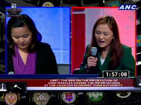 ANC Square Off CVC Law Debates Season 6 - Championship Round