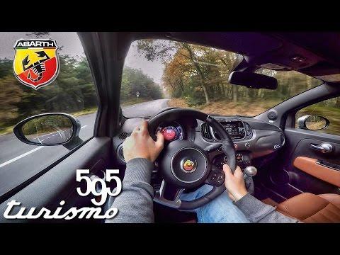 Abarth 500 2017 595 Test Drive & Interior Sound