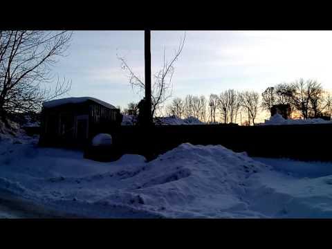 Свалка снега
