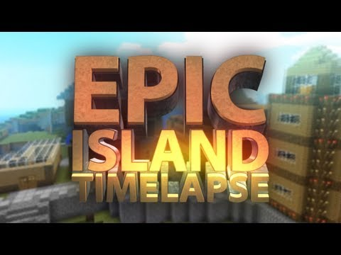 Minecraft - EPIC Island Build Timelapse