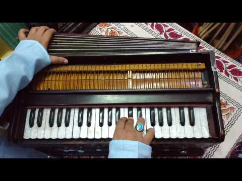 'LEHRA' or 'NAGMA' IN TEEN TAAL for kathak and harmonium learners..Easiest way to learn and practice