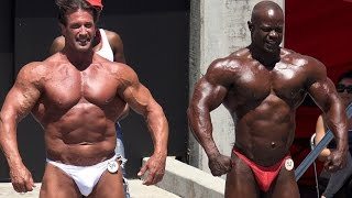 58 Year Old Bill McAleenan Bodybuilding Finals at Muscle Beach 7/4/16