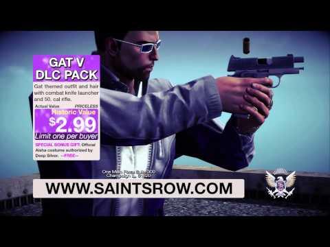 Saints Row IV: GAT V DLC Trailer (PEGI)