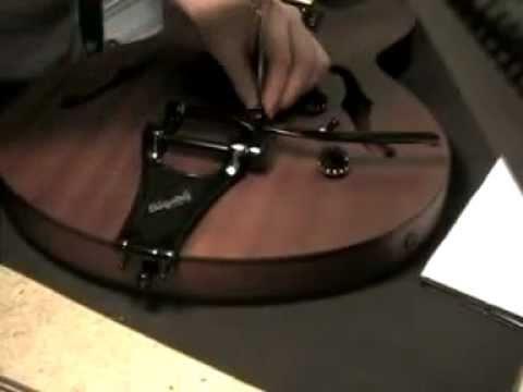 Bigsby Vibrato Installation - B700 Epiphone