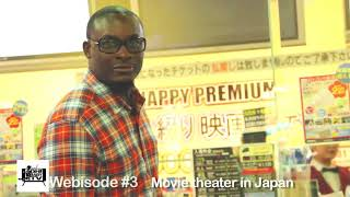 Funny Black Guy at a Japanese Movie Theater