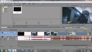 Sony Vegas Glitch Transition Tutorial - Quick and Easy (No Plugins Needed)