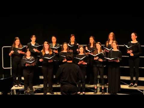 Falmouth Academy Girls Choir Feb 2014 - Lift Thine Eyes
