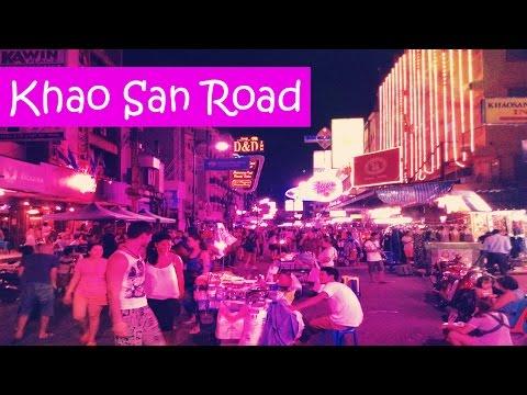 Khao San Road in Bangkok // Улица Каосан в Бангкоке