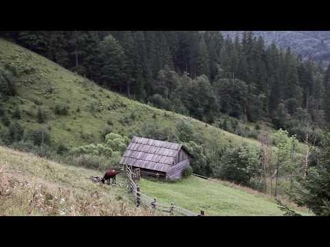 Гуцульський фольклор. Карпатські гори. Село Дземброня.